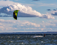 Kite Boarding Newtowne neck 13-Jan-16