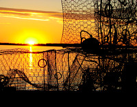 Crab Pots & Sunset